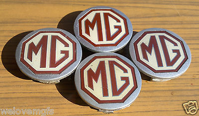 4 x MGF/MG TF ZR ZS Silver Alloy Wheel Centres Caps Trims DTC100640 54mm Centre