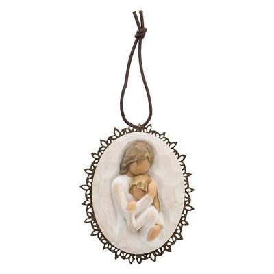 Willow Tree Close to me Metal-edged Ornament by Susan Lordi 26237