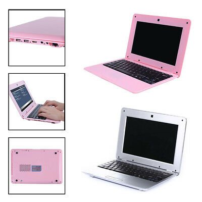 10.1'' 1+8G Notebook MINI LAPTOP WIFI ANDROID6.0 1.5GHz Kid Holiday Gift Netbook