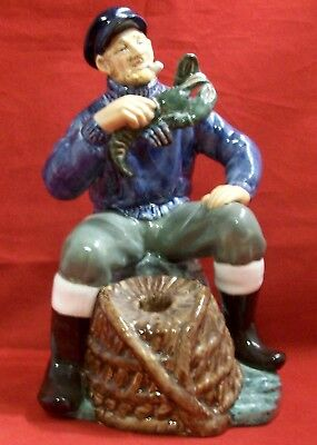 Royal Doulton The Lobster Man HN2317 Figurine England EUC Retired