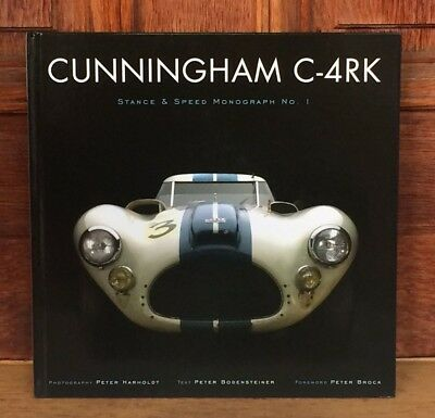 CUNNINGHAM C-4RK Book - SIGNED BY Author Peter Bodensteiner - Stance & Speed #1