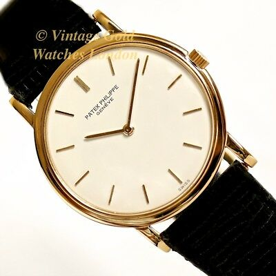 Patek Philippe 18Ct Ultra-Thin, Ref. 3498, 1966, + Original P.p. Box & Buckle