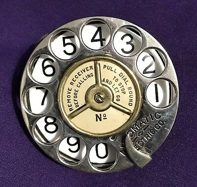 EARLY Automatic Electric Telephone Dial
