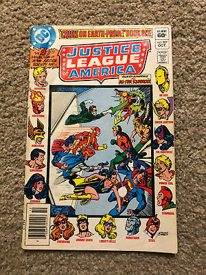 Justice League Of America 207 Vs Crime Syndicate-Jsa/all Star Squadron-Good??