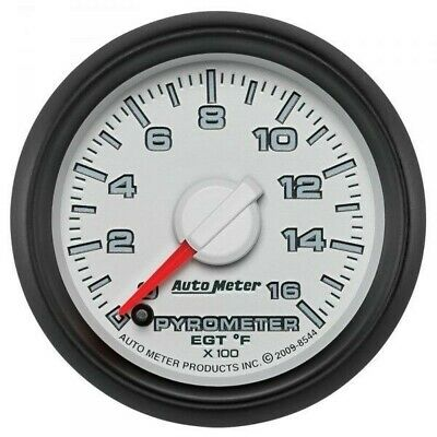 Auto Meter Factory Matched Pyrometer Kit 8544 For 0-1600 F 03-09 Dodge Cummins
