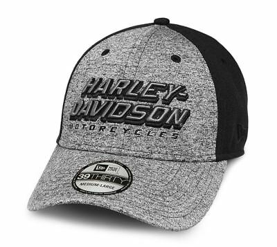 Genuine Harley Davidson Men's Embroidered Knit 39THIRTY Cap