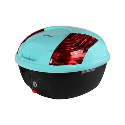 K-Max Topcase (30 LT, Quick Release); Genuine Color Matched - TURQUOISE BLUE ...