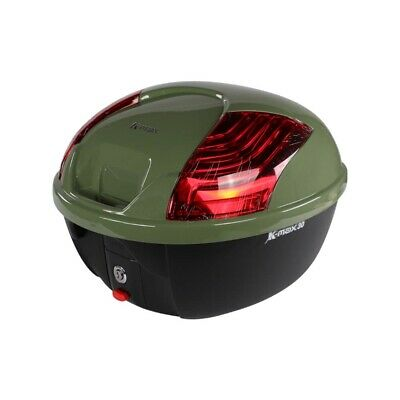 K-Max Topcase (30 LT, Quick Release); Genuine Color Matched - GREEN / Scooter...