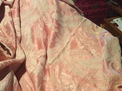 Antique Pink Tapestry Throw or Table Cover
