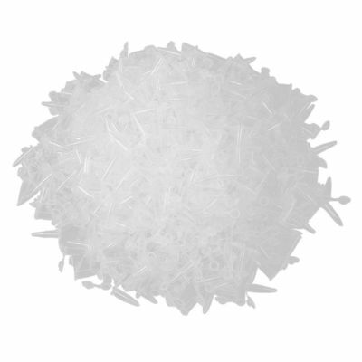 7X(1000 Pcs Laboratory Clear White Mark Printed Plastic Centrifuge Tube 0.5ml T8