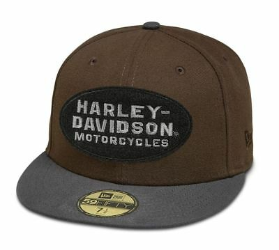 Genuine Harley Davidson Men's Patch 59FIFTY Cap