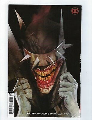 BATMAN WHO LAUGHS # 2 of 6 Variant Cover DC NM Ships Jan 16th