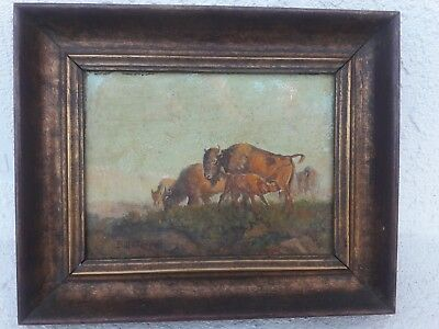 Bill Chappell Buffalo Country Original Oil Painting at 8 years old