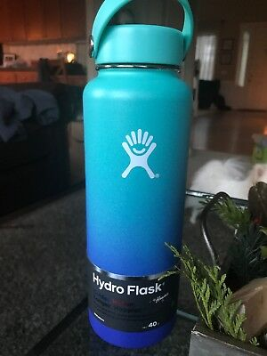 Hydro Flask Wide Mouth 40oz Hawaii Moana Ombré Exclusive Edition, Hard To Find!