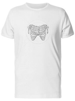Human Ribs Low Poly Men's Tee -Image by Shutterstock
