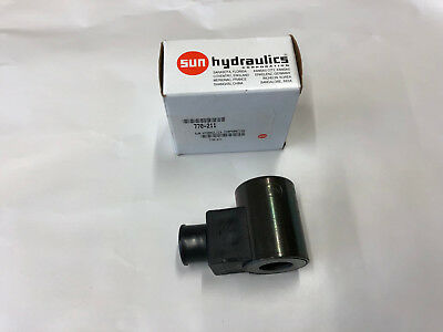 NEW Sun Hydraulics 770-211 Solenoid Valve Coil