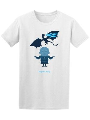 King Of The Night And Dragon Men's Tee -Image by Shutterstock