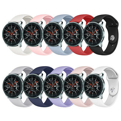 Silicone Sport Band Strap for Samsung Galaxy Watch 42/46mm Replacement Wristband