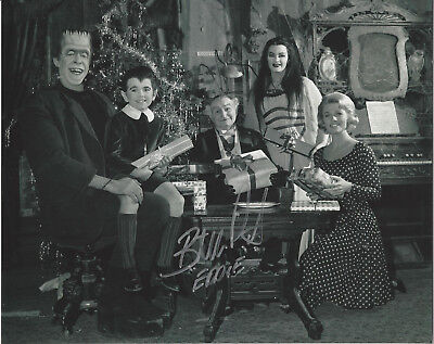 The Munsters  Butch Patrick autographed  8x10 Christmas Photo