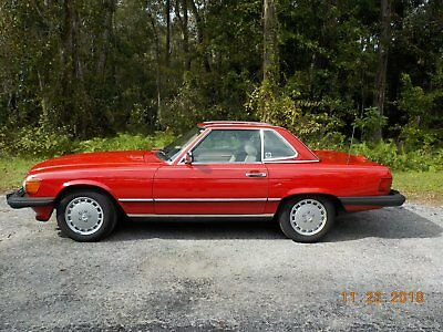 1989 Mercedes-Benz 500-Series  1989 Mercedes 560SL ONE OWNER