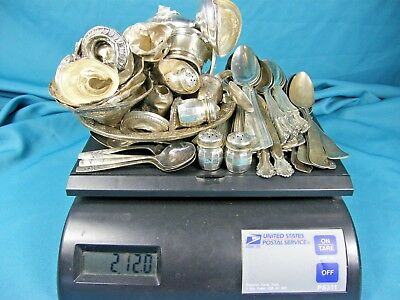 Sterling Silver Lot 1247 Grams~All Clean~Marked~Scrap~Not Scrap~Fiddle spoons