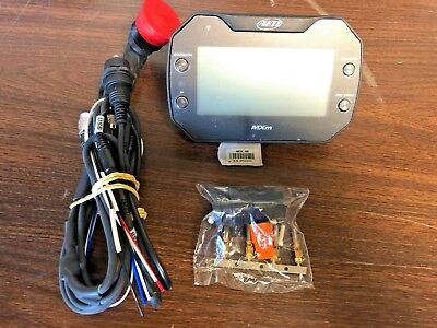 AiM Sports MXm Dash Logger Data Acquisition X87MXM0000 NEW FREE SHIPPING