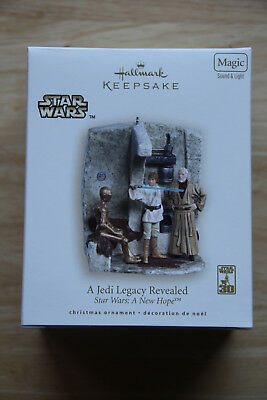 2007 Jedi Legacy Revealed Hallmark Keepsake Ornament - Star Wars Magic series