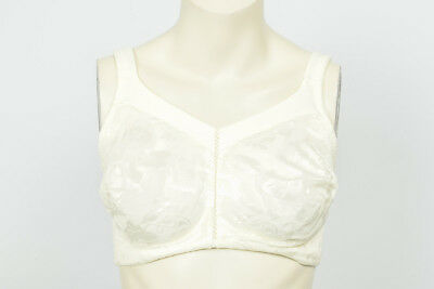 209a560be6 Wacoal 85276 Awareness ivory 38DDD wire free soft cup full coverage bra NEW   60