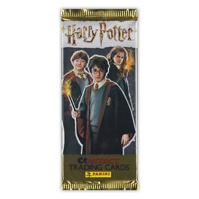 Harry Potter - Cards Contact-Karten  1 Booster im Kinofomat 5 Karten + 1 Leaflet
