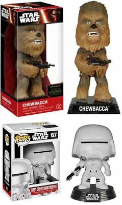 Funko Star Wars Episodes VII: Chewbacca + First Order Snowtrooper – Figure NEW