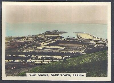 Bucktrout-Around The World Places Of Interest-#069- The Docks - Cape Town Africa