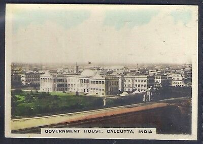 Bucktrout-Around The World Places Of Interest-#130- Government House - India