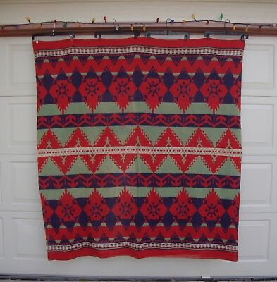 Vintage Beacon Style Camp Blanket Cabin Blanket