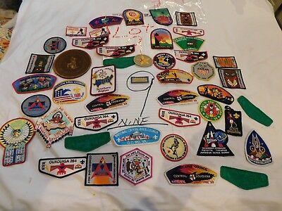 BSA Patches 40+ OA Jamborees Camps States Events Colorful Chiefs Paths Lot 9