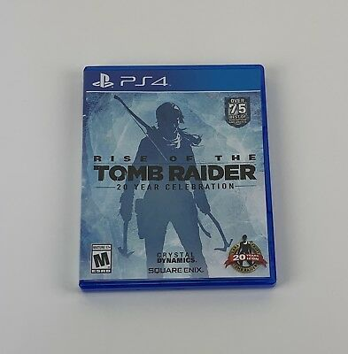 Rise of the Tomb Raider 20 Year Celebration Special Edition - PlayStation 4 PS4