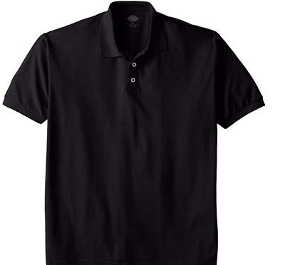 Dickies Men's Big Short-Sleeve Pique Polo Shirt