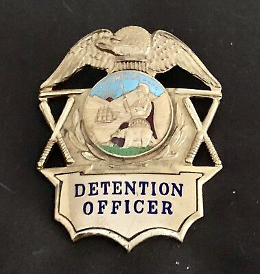 1957 Detention Officer - Gold Color