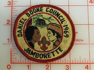 1969 Daniel Boone Council JAMBORETTE patch (gK)