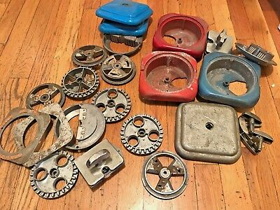vintage Acorn Oak Gumball Machine parts lot