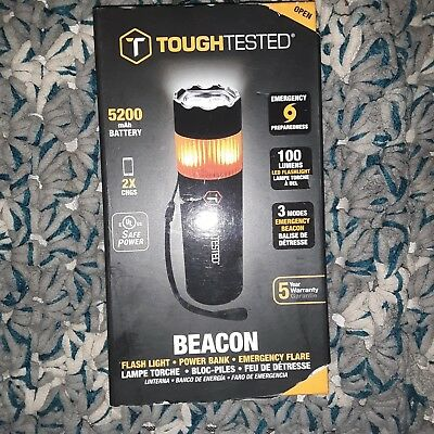 Tough tested Beacon Flashlight