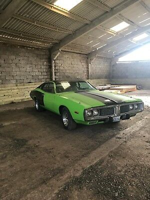Dodge Charger 1974, american muscle, classic,