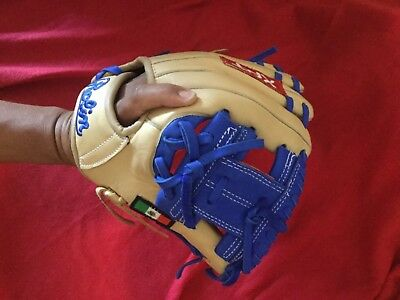 Rolin XPT R.L.N. Baseball Glove Beige mix Royal / 11.5 Inch NEW Without Tags