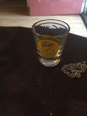 1954 Southern Airways Shot Glass - 6th Year Of Progress