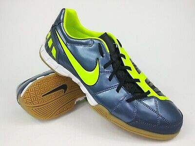 d3325d1bc Nike Mens Rare Total90 Shoot lll IC 385440-470 Grey Indoor Soccer Shoes  Size 11