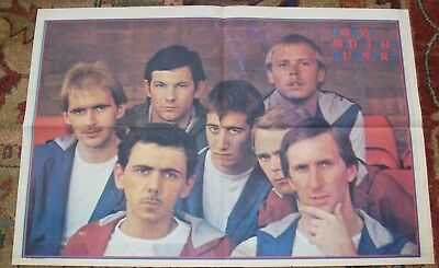 DEXY'S MIDNIGHT RUNNERS RECORD MIRROR UK MUSIC PAPER COLOUR POSTER AUG 15th 1981