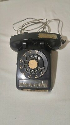 Vintage Western Electric Bell System  Black Multi Line Rotary Dial Phone