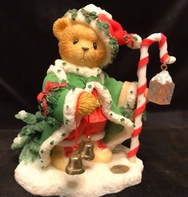 Cherished Teddies Wolfgang #706701 - The Spirit Of Christmas Is In Us All