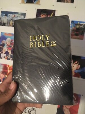 The Holy Bible King James Version:  Old & New Testaments, Black