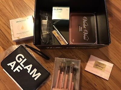 NEW COMPLETE Boxyluxe December🎄2018 Luxie Violet Voss Tarte etc Boxycharm
