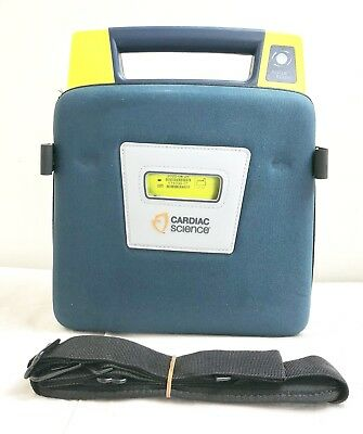 Cardiac Science G3 Pro Aed Defib + Case 100% Battery + New 04/2020 Pads